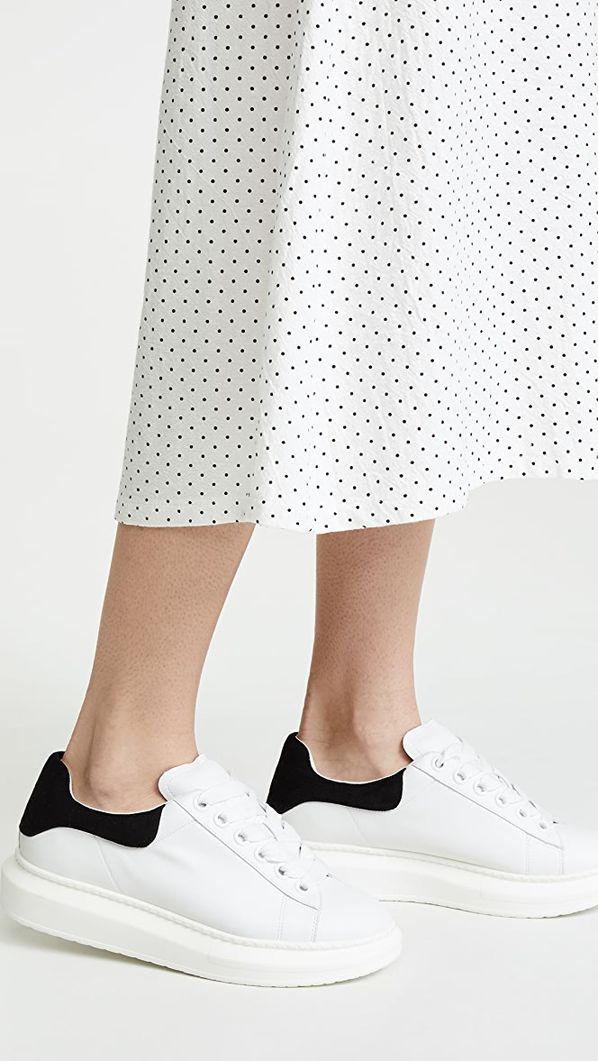 Steven Glazed Lace Up Sneakers | SHOPBOP