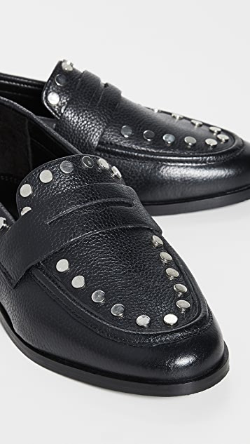 Steven Ample Studded Loafers