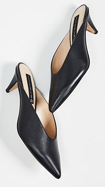 Elora Pointed Toe Mules by Steven