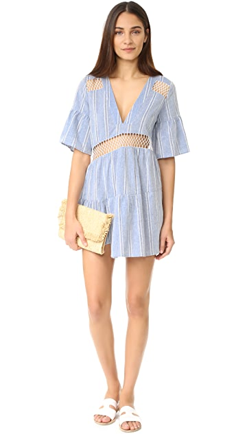 Suboo Desert Muse Tiered Caftan