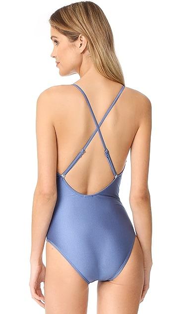 Suboo Heartbreaker Crisscross Swimsuit