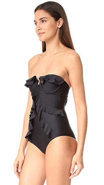 Suboo Underwire Frill One Piece