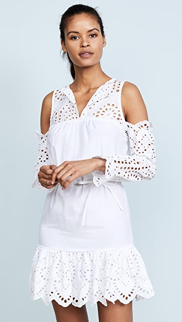 Suboo Hold On Cold Shoulder Mini Dress