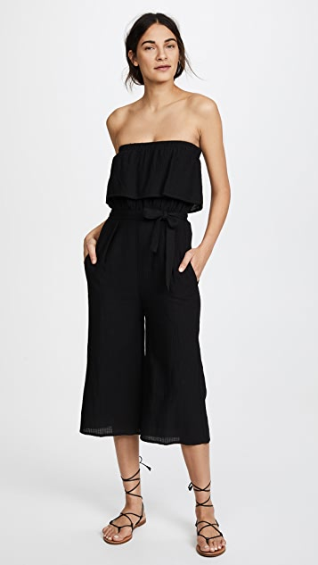 Suboo De Coup Strapless Jumpsuit - Black