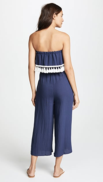 Suboo Playa Strapless Jumpsuit