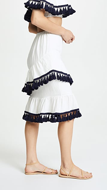 Suboo Playa Frill Skirt