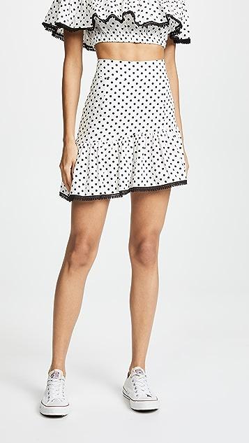 Suboo Over & Over Frill Miniskirt