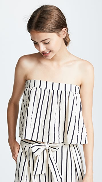 Suboo Stay Tie Back Crop Top