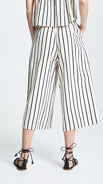 Suboo Stay Wide Leg Tie Pants