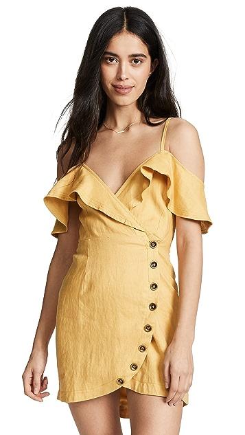 Suboo Biscay Wrap Mini Dress