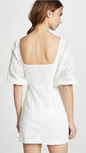 Suboo Blanca Tie Front Mini Dress
