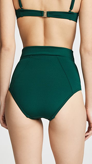 Suboo Jungalow Belted High Waisted Bottoms