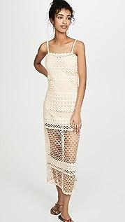 Suboo Stella Crochet Maxi Dress