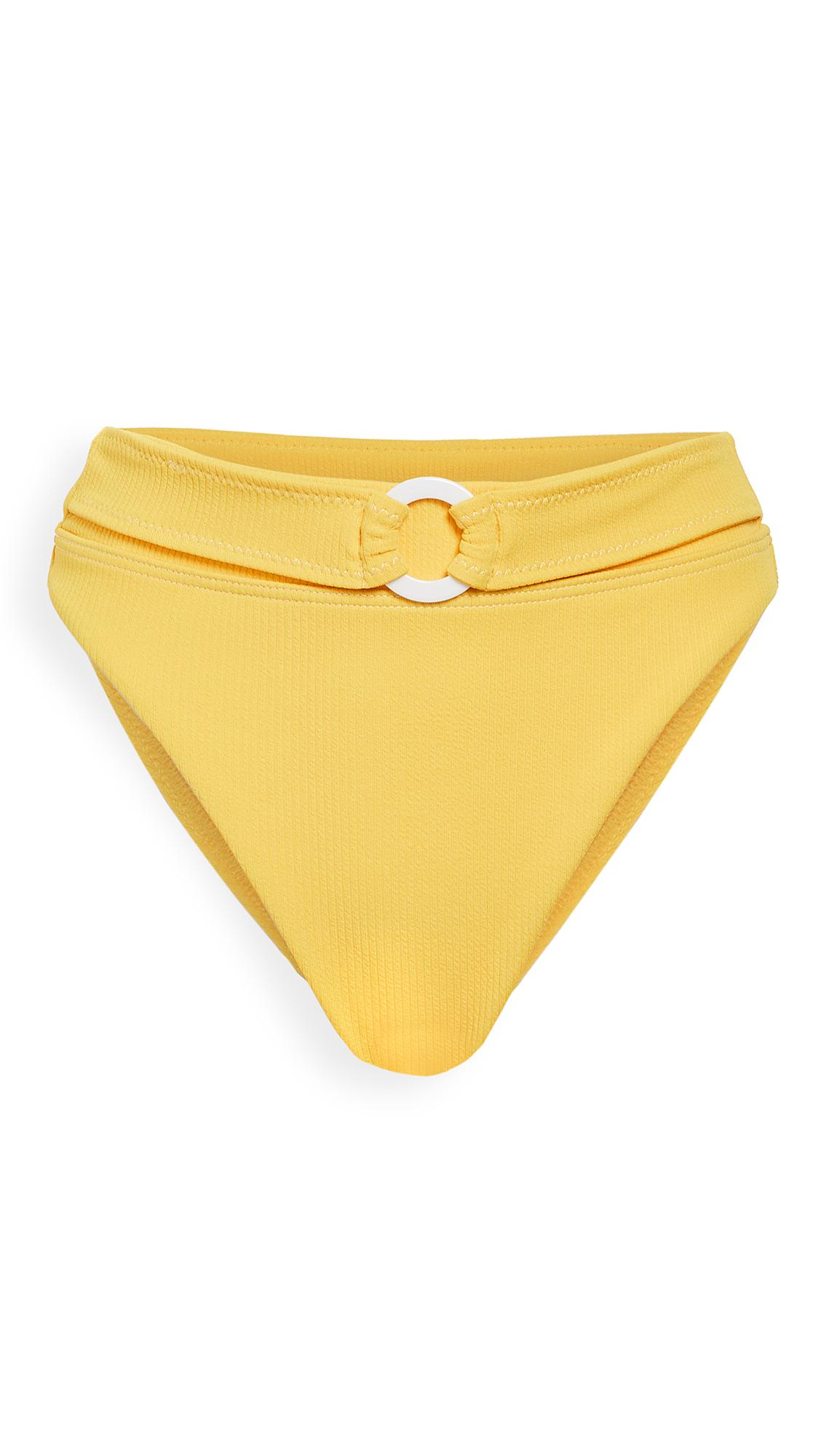 Suboo Ines Belted High Cut Bikini Bottoms