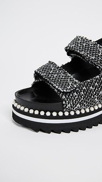 Suecomma Bonnie Back Strap Platform Sandals