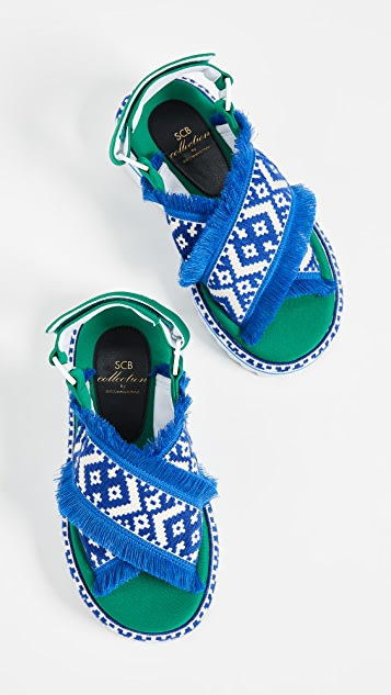 Suecomma Bonnie Ethnic Platform Sandals