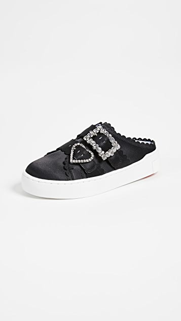 Suecomma Bonnie Jewel Buckle Mule Type Sneakers