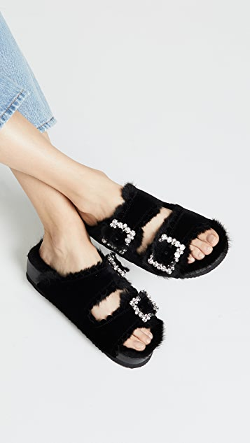 Suecomma Bonnie Jewel Detail Sandals