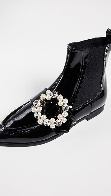 Suecomma Bonnie Jewel Pointy Ankle Booties