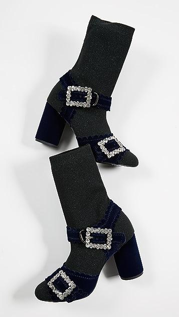 Suecomma Bonnie Glitter Sock Sandals