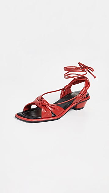 Suecomma Bonnie Twisted Knot Sandals