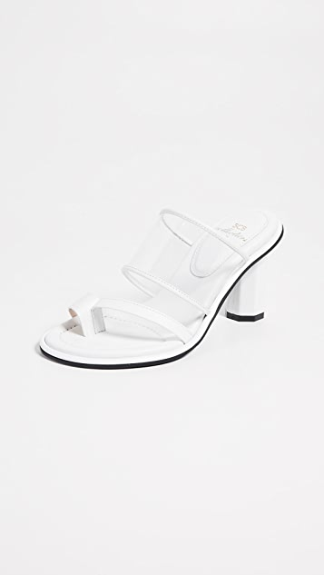 Suecomma Bonnie Transparent Heel Sandals