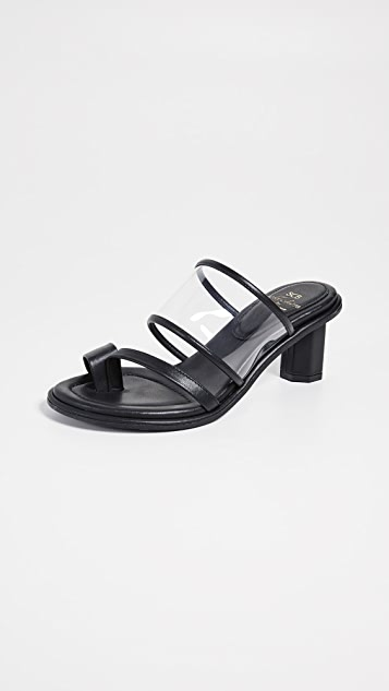 Suecomma Bonnie Transparent Heeled Sandals