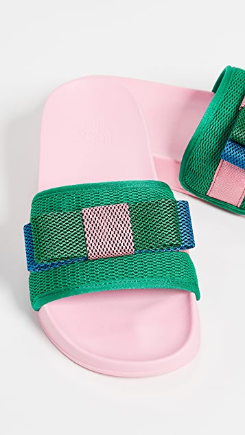 Suecomma Bonnie Сандалии с лентами и цветными блоками