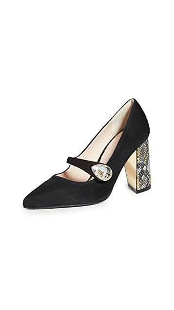 Suecomma Bonnie Jewel Ornament Pumps