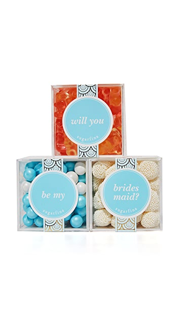 Sugarfina Will You Be My Bridesmaid Bento Box