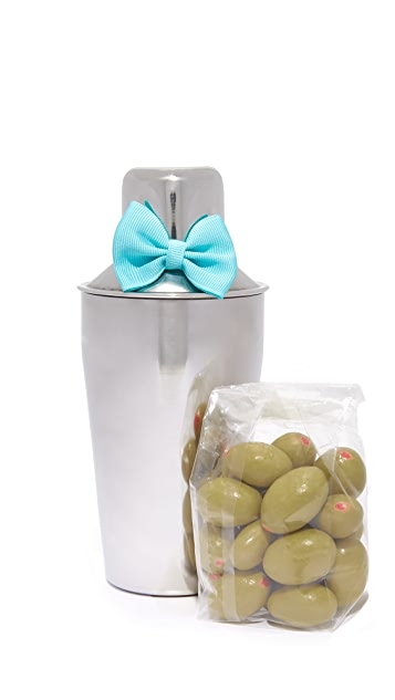 Sugarfina Mini Martini Shaker & Olive Set