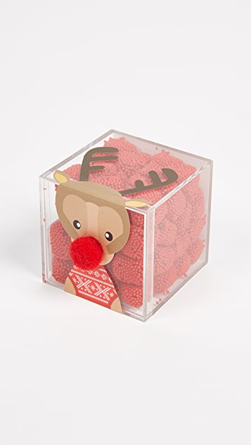 Sugarfina Reindeer Noses Cube