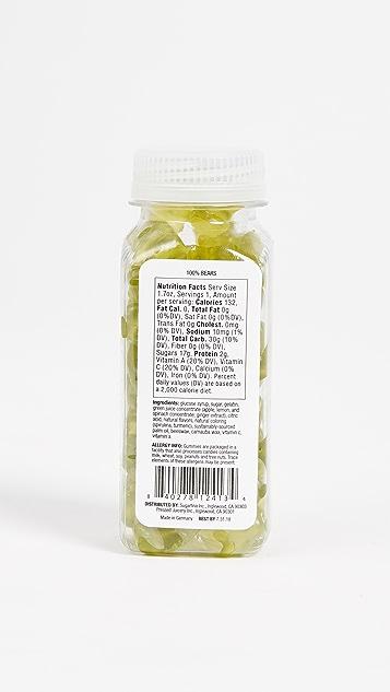 Sugarfina Green Juice 7 Day Cleanse Gummy Bears