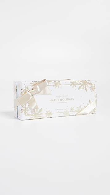 Sugarfina Happy Holidays 2018 3pc Bento Box