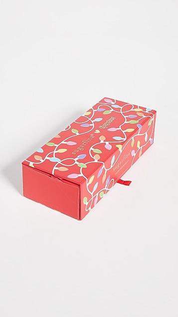 Sugarfina Tipsy Elves 3 Piece Bento Box