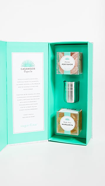 Sugarfina Casamigos Tequila Infused Candy Bento Box