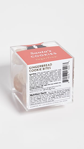 Sugarfina Santa Gingerbread Cookie Bites