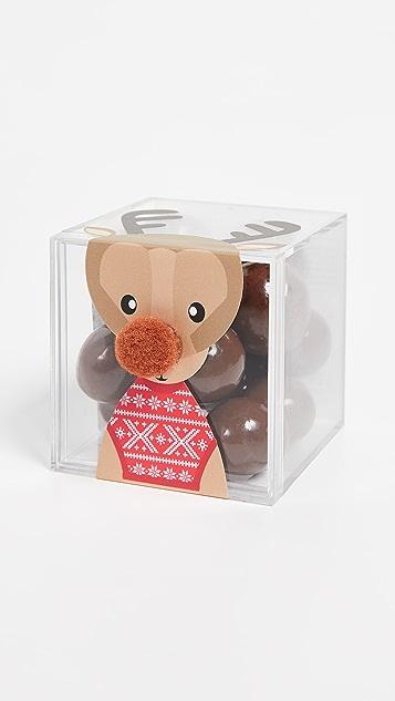 Sugarfina Reindeer Milk Chocolate Sparkle Pops