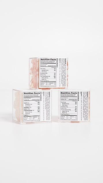 Sugarfina Rosé All Day 3 Piece Bento Box