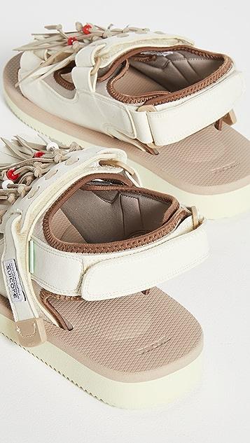 Suicoke WAS-4Ab Sandals