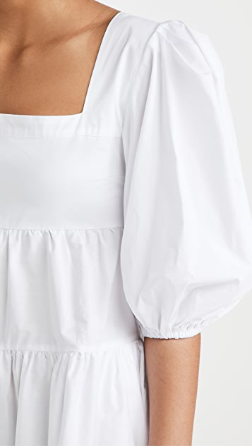 Sokie Collective Pouf Sleeve Mini Dress