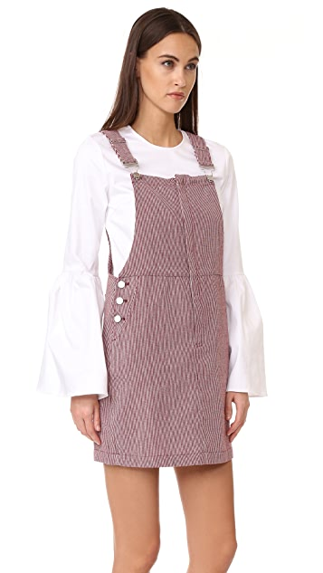 Suncoo Clotilde Overall Dress