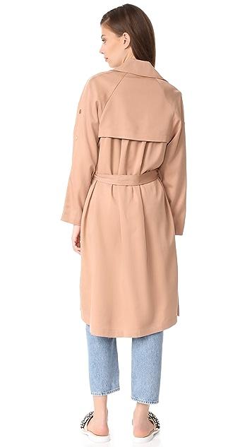 Suncoo Erik Trench Coat