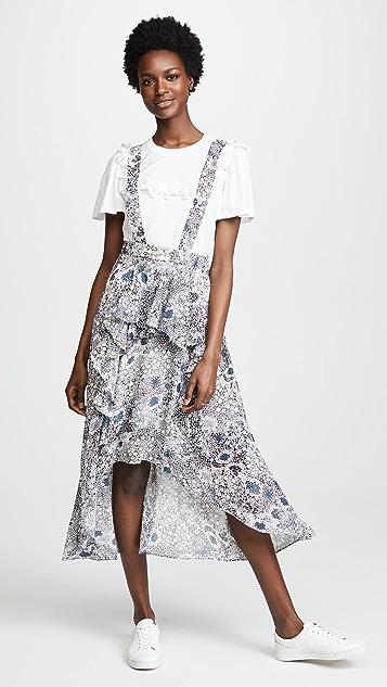 Suncoo Florence Skirt - Bleu