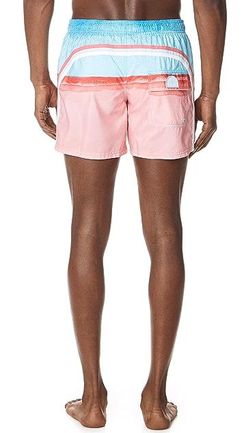 SUNDEK Elastic Waist Shorts
