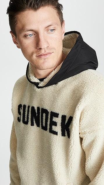 SUNDEK Kangaroo Fleece Sweatshirt