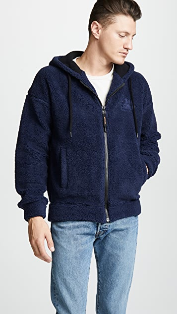 SUNDEK Hooded Fleece Sweatshirt