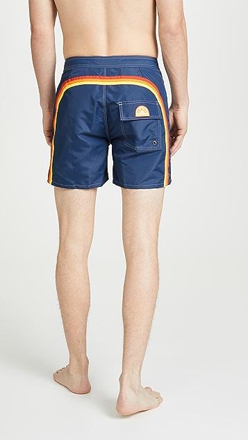 SUNDEK Solid Swim Shorts