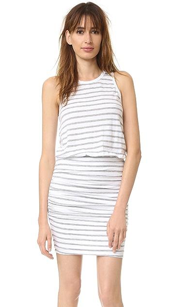 e75acafd6ce30 SUNDRY Stripe Sleeveless Dress