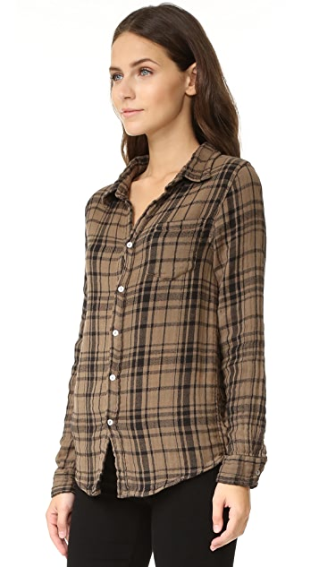 SUNDRY Basic Plaid Shirt
